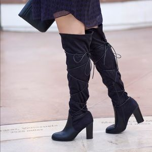 Shoedazzle High Knee Boots